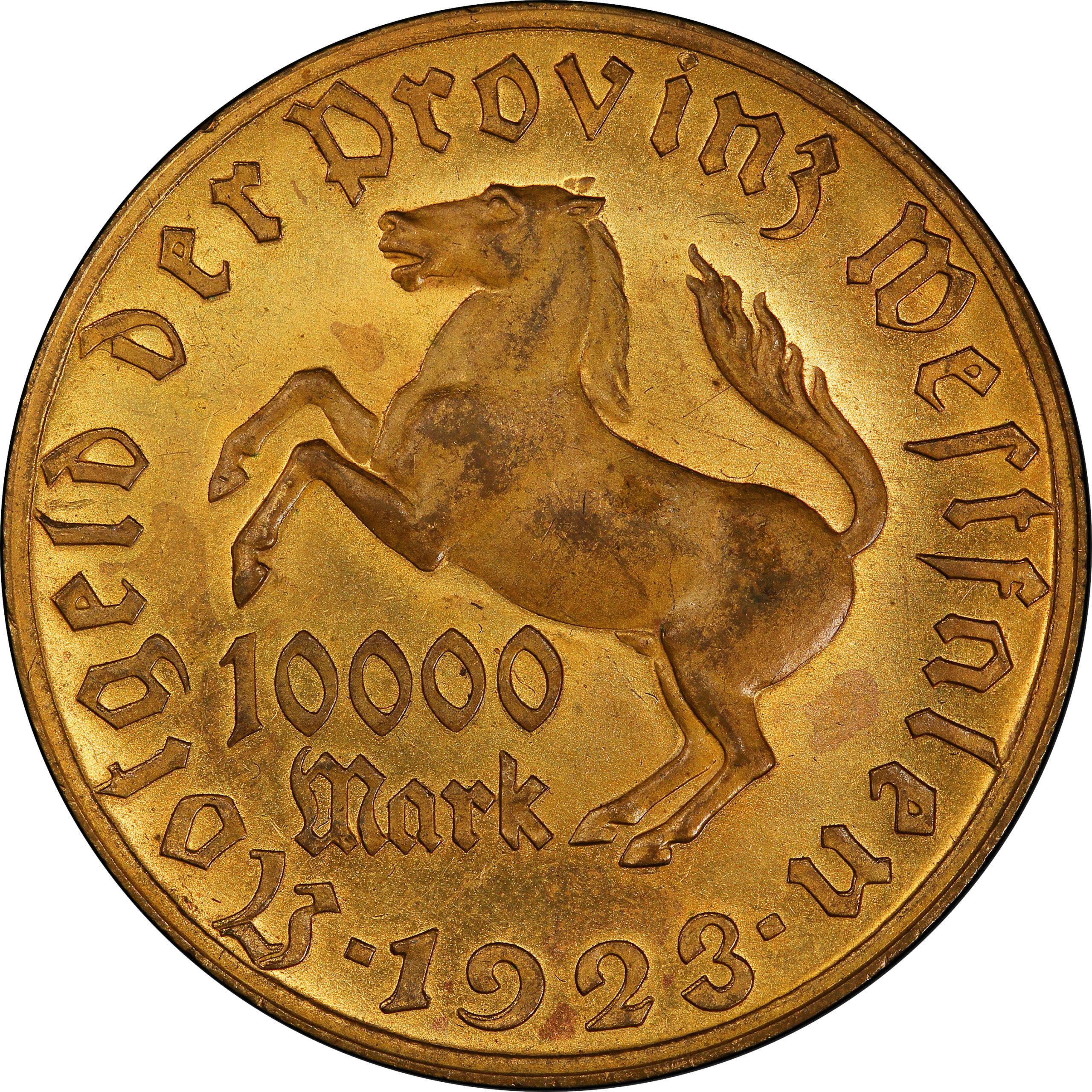 Notgeld (Emergency Money) Metal Tokens on GermanCoins.com