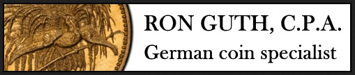 GermanCoins.com & GermanCoins Auctions - by Ron Guth, CPA, German Coin Specialist